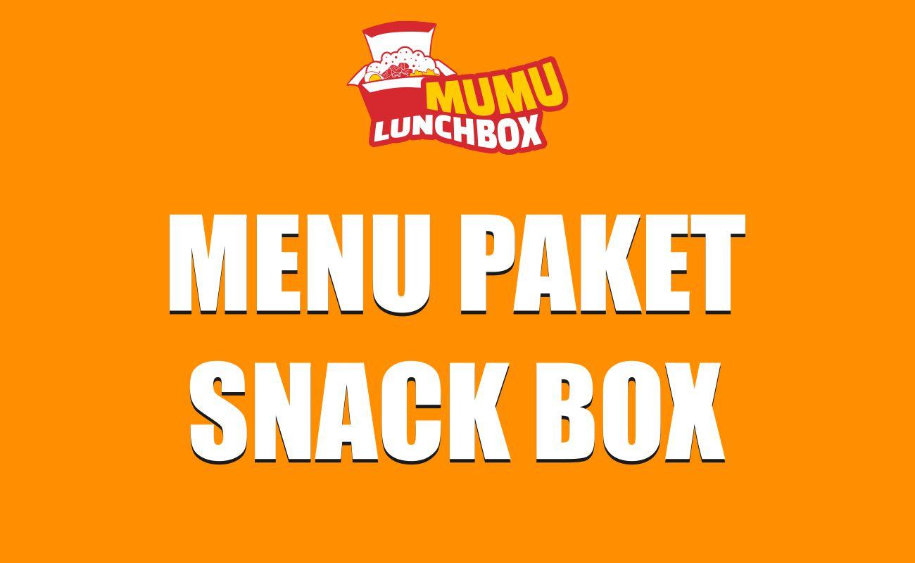 Harga Menu Paket Snack Box