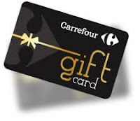 Win Carrefour Gift Card € 100