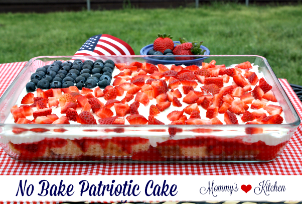 How To Make A Th Of July Jello Cake
