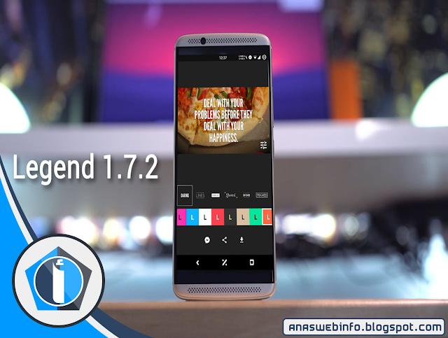 تطبيق Legend Premium المدفوع لصنع مقدمات فيديو إحترافية مجانا