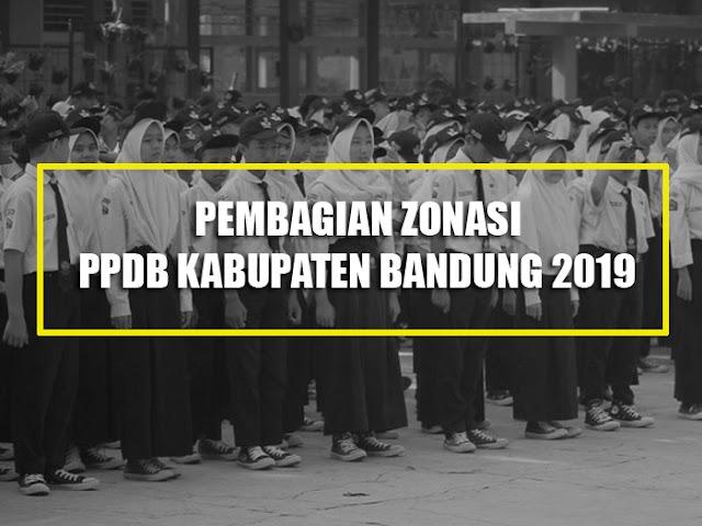 Inilah Pembagian 9 Zonasi di PPDB Kabupaten Bandung 2019