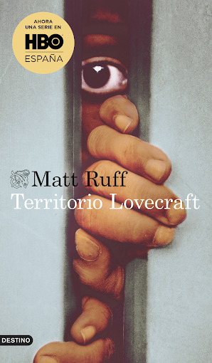 Portada Territorio Lovecraft de Matt Ruff.