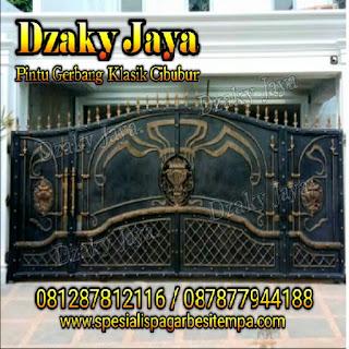 Foto pagar tempa klasik untuk pagar rumah mewah klasik 9
