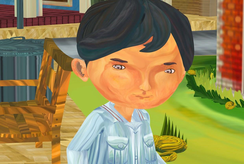 Imaginantes - El niño que veía lo invisible : Modelado 3D