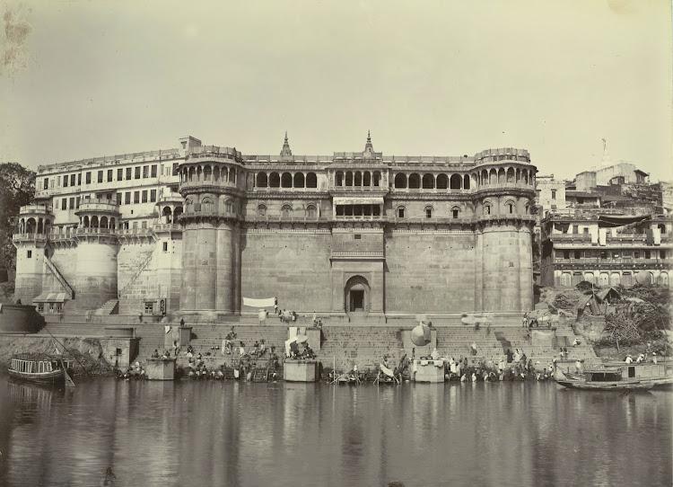 Ghosla Ghat - Benares (Varanasi) 1905