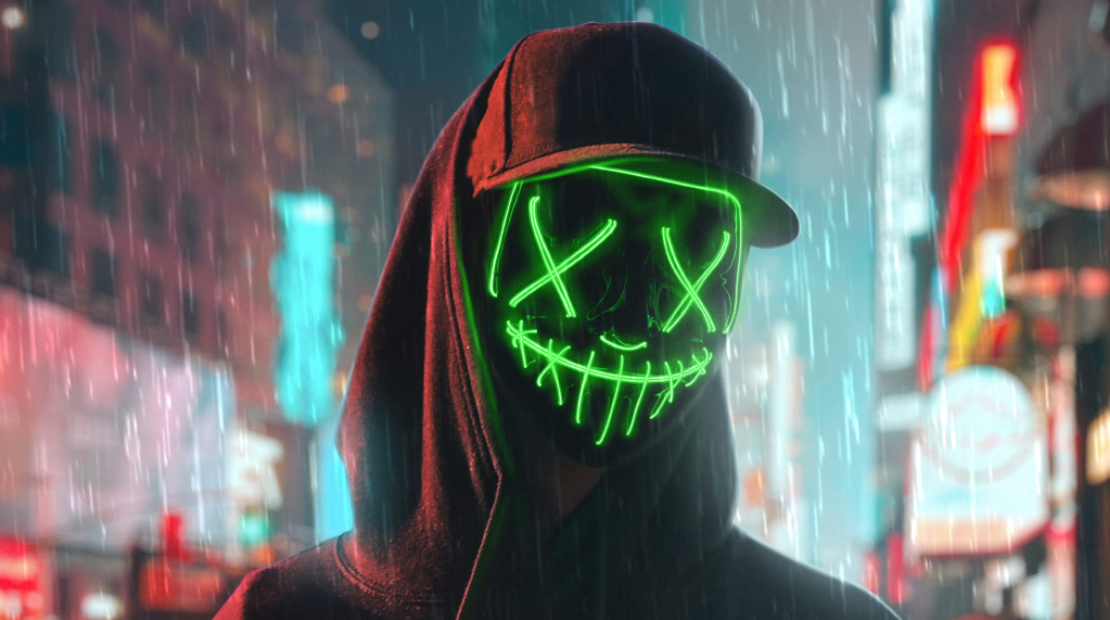 how to make neon video edits