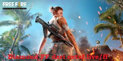 Diamond FF bisa di dapat dari extaf.live/ff
