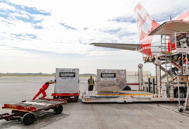 Teleport AirAsia sedia hantar vaksin COVID-19