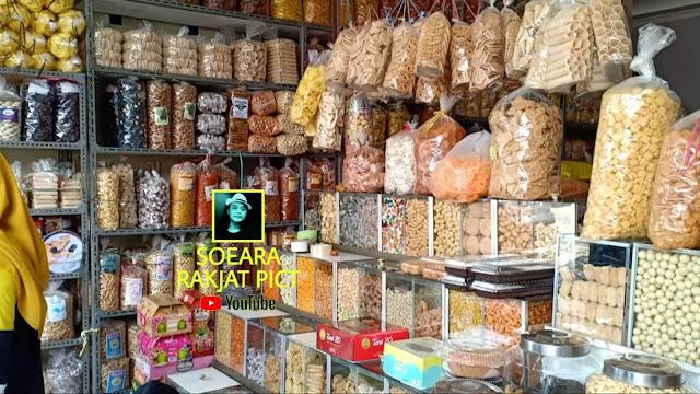 Pasar Cilamaya Karawang, Toko Kue Kering dan Makanan Ringan