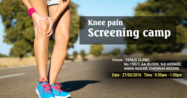 Knee Screen Camp Chennai