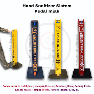 Pedal hand Sanitizer Stand
