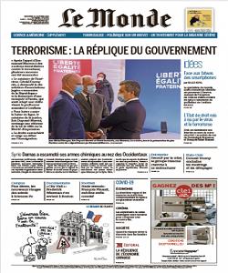 lemonde, le monde magazine 21 October 2020, le monde magazine, le monde news, free pdf magazine download.