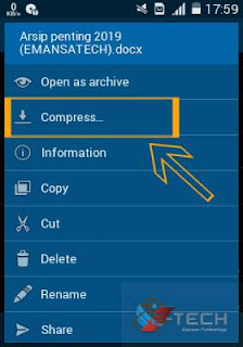 Tutorial 2 Cara Memberi Password Pada File Folder di Android Praktis