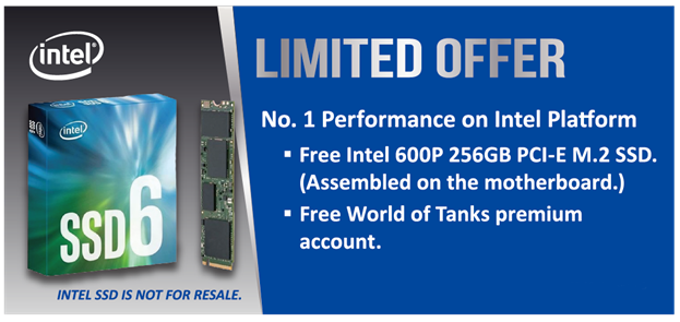Intel 600p Series SSD