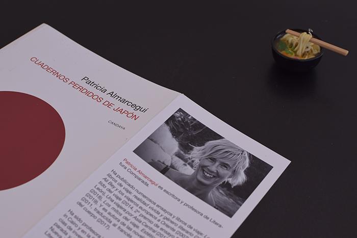 Reseña de «Cuadernos perdidos de Japón», de Patricia Almarcegui (Ediciones Candaya)