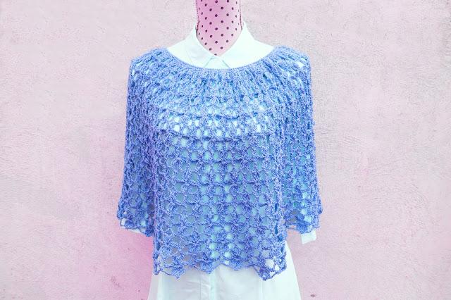 3 - Crochet Imagen Capa para mujer a crochet y ganchillo por Majovel crochet