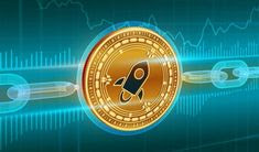 Stellar Cryptocurrency Coin Logo