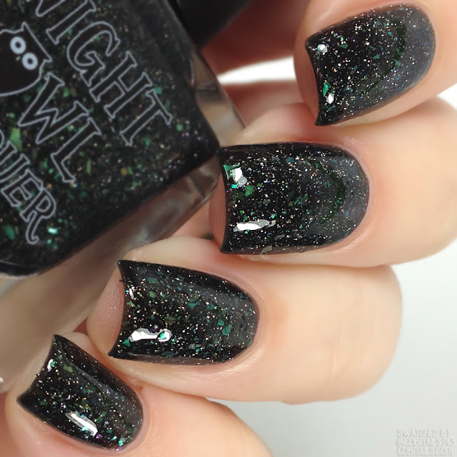 Night Owl Lacquer-Write Your Own Part