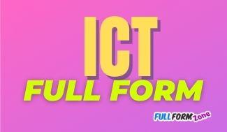 ict-full-form