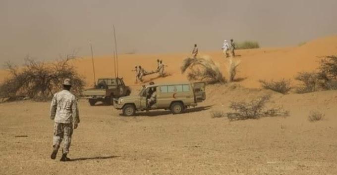 Ejército de Mauritania intercepta vehículos cargados con armas y drogas procedentes del muro marroquí.
