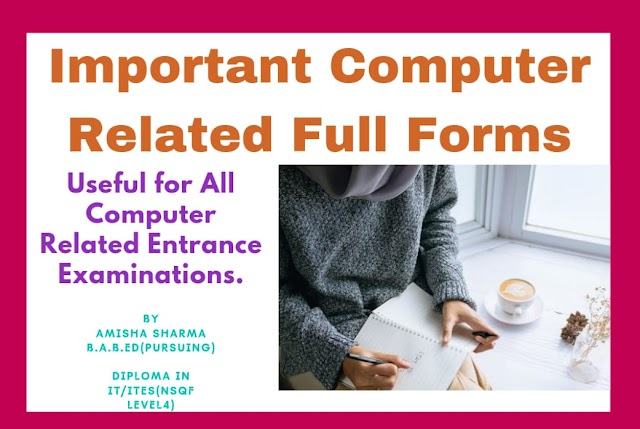 Computer Related Full Forms/Amisha Sharma