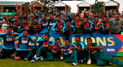 Bangladesh beat India to win first historic U19 Cricket World Cup 2020.