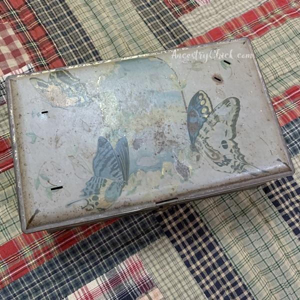 Grandma Kephart's Tin Box - Ancestry Chick
