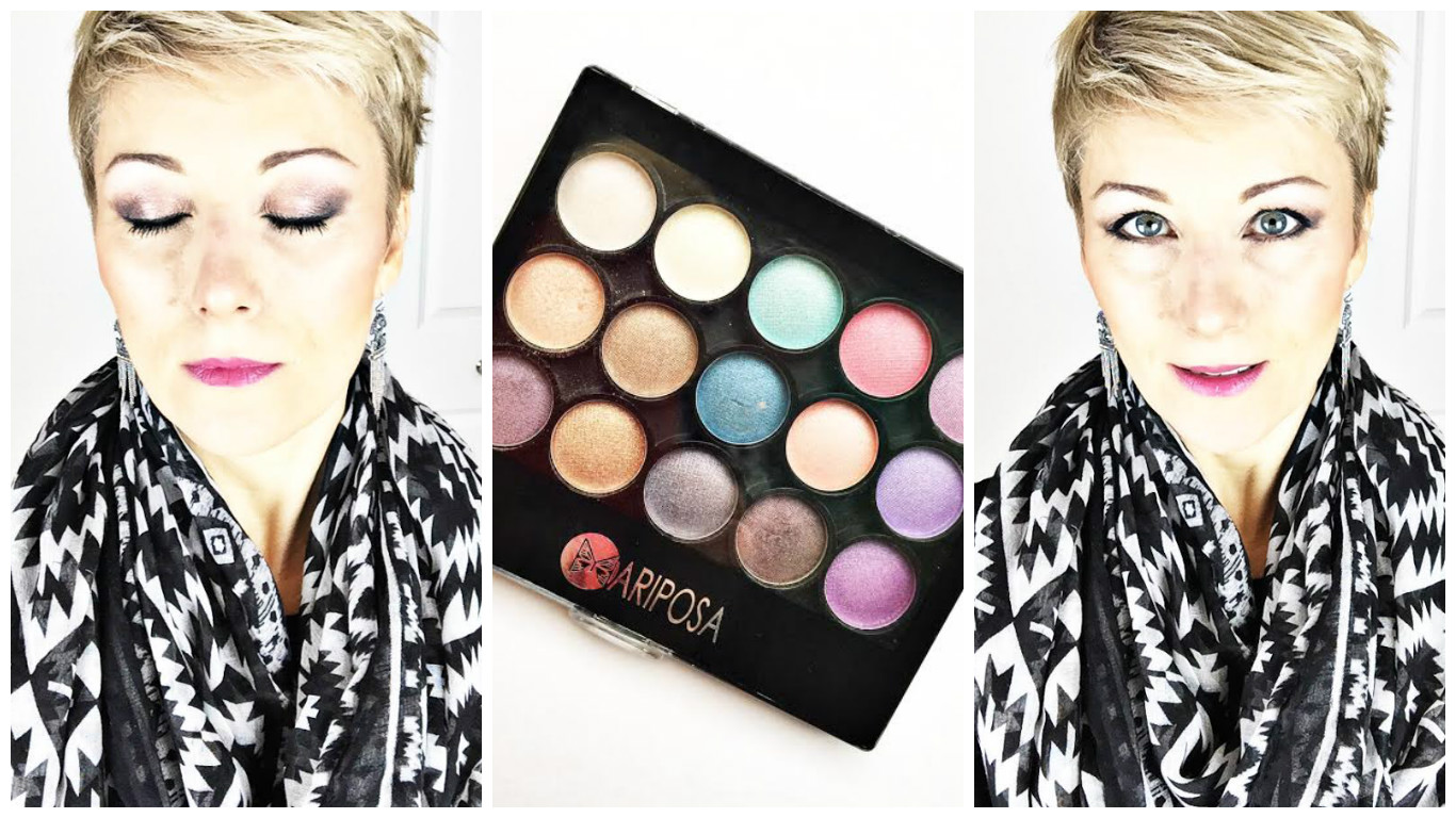 Testé: Maquillage du Dollorama – palette Mariposa