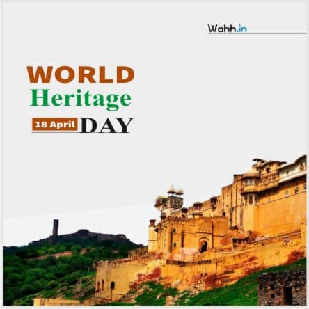 World Heritage Day sms  Posters