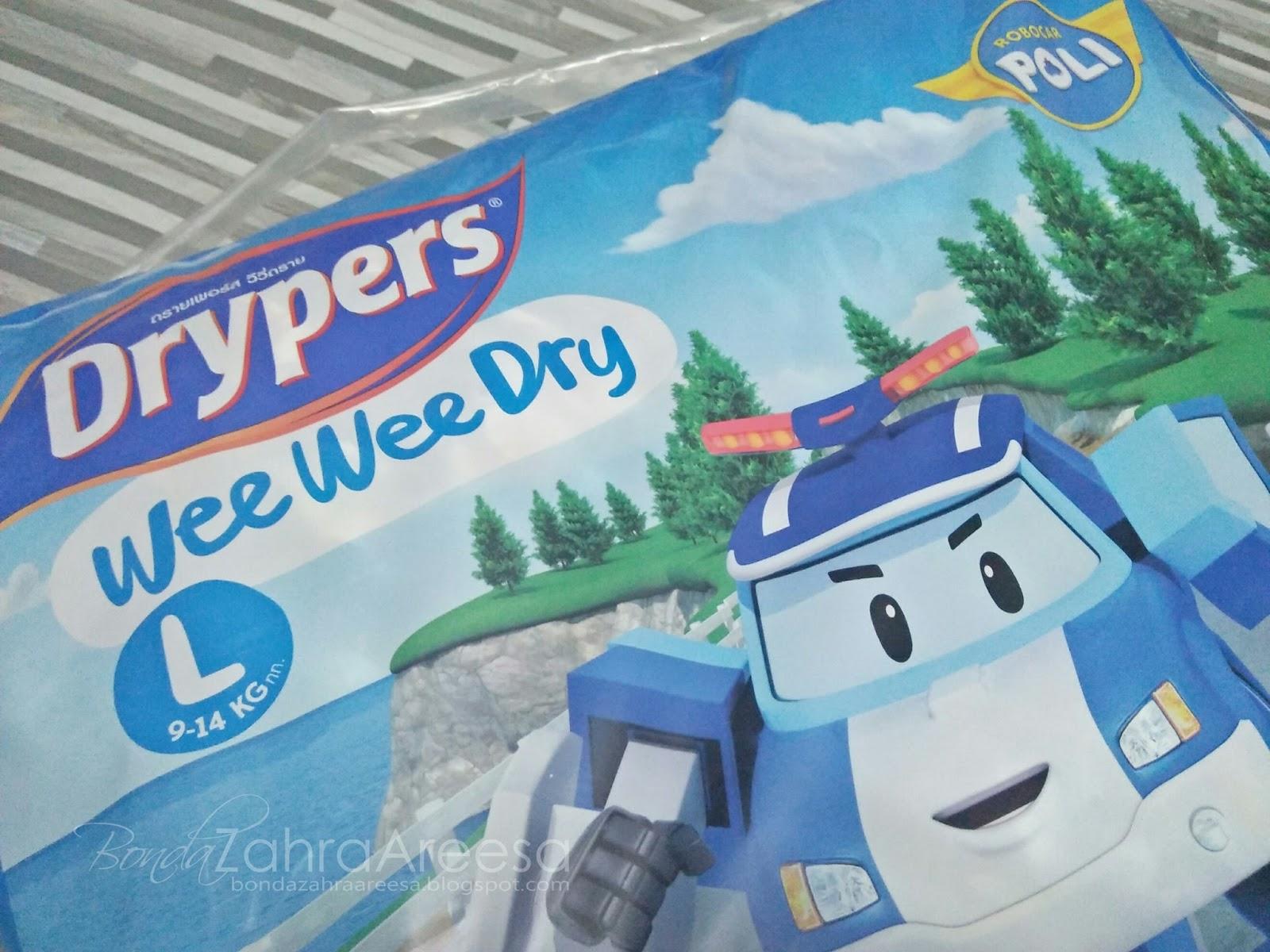 Review Pampers Wee Wee Dry, Review Pampers Untuk Anak