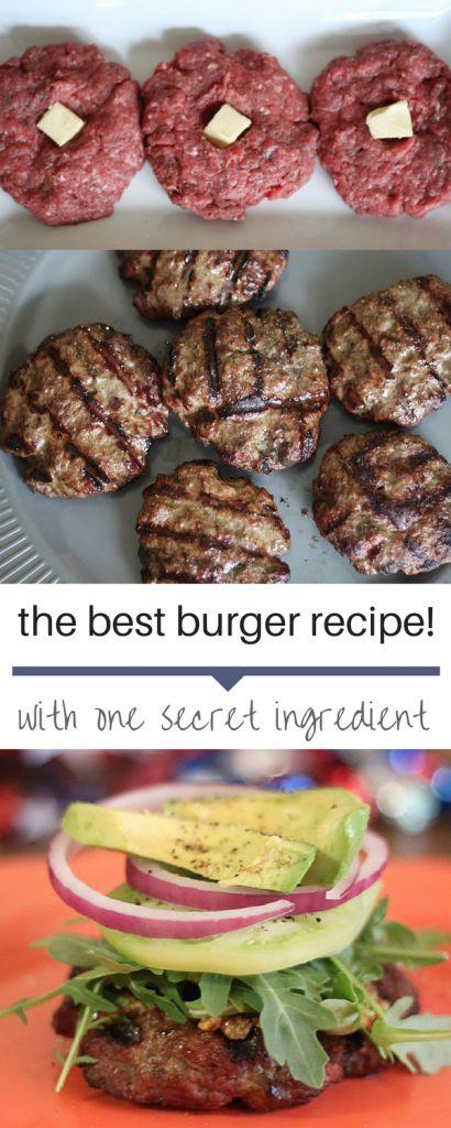 The Best Burger Recipe