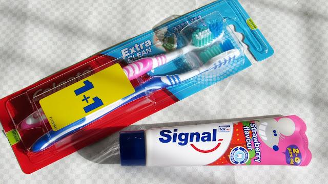 зубная паста со вкусом клубники от Signal
