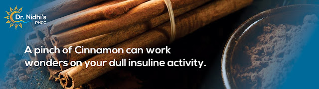 How a pinch of cinnamon restores the insulin level