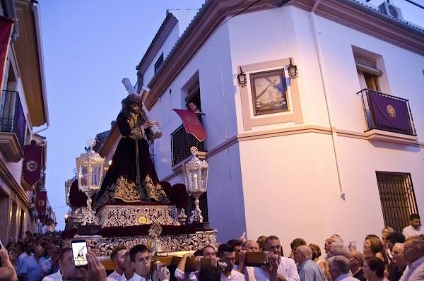 El Señor de la Sentencia presidirá el Vía Crucis de las Hermandades de Córdoba entronizado en las andas de plata del Nazareno de La Rambla