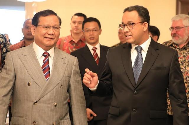 Ketemu SP, Anies Gertak Prabowo Sekaligus Tes Ombak untuk 2024