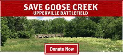 Save Goose Creek Bridge battlefield at Upperville