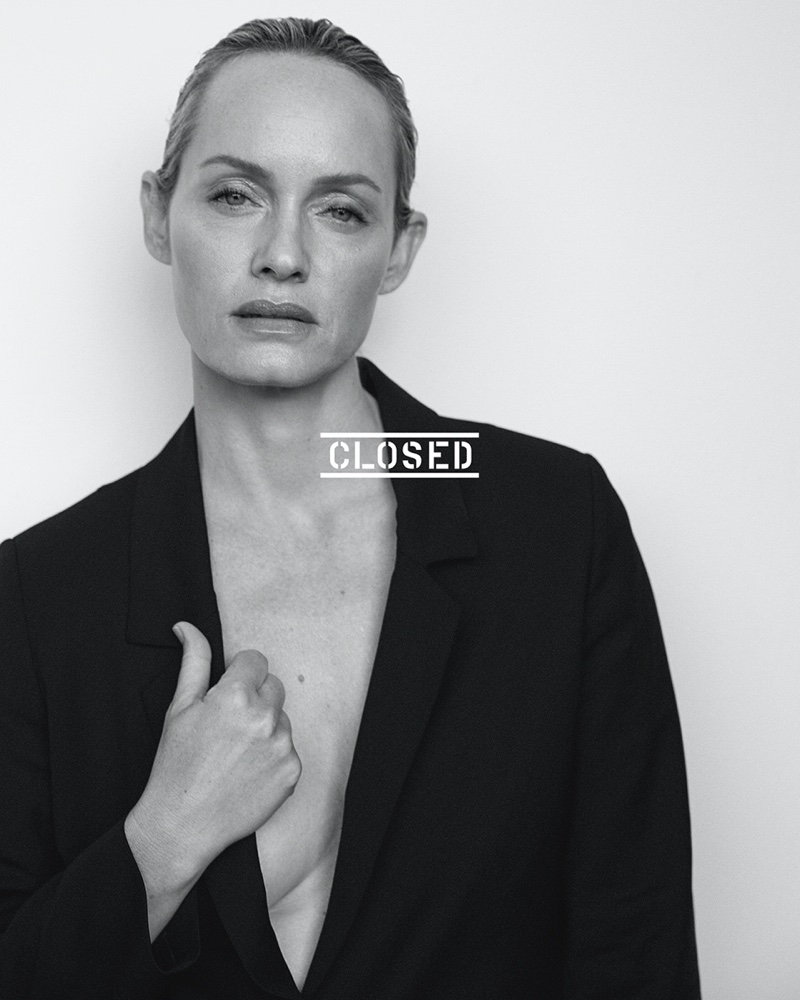Amber Valletta stars in the Closed Spring/Summer 2021 Campaign