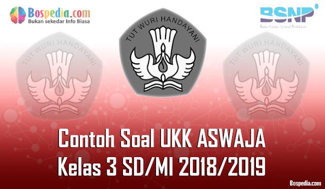 Lengkap - Contoh Soal UKK ASWAJA Kelas 3 SD/MI 2018/2019