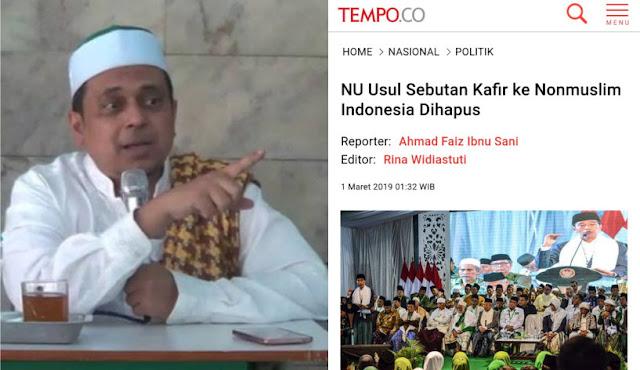 Soal Kafir Diganti Non Muslim, Argumen Ust Haikal Hassan Telak