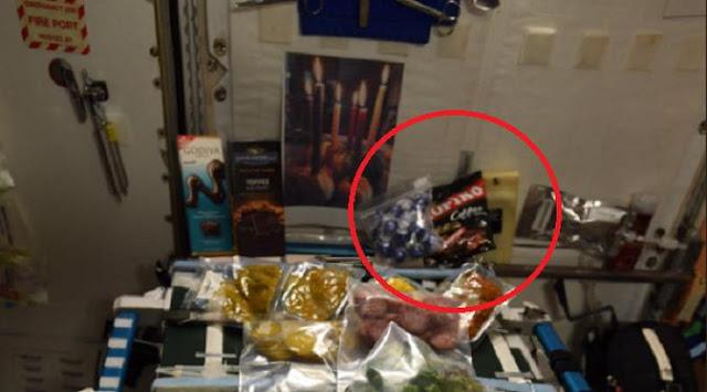 Penemuan bungkus permen kopiko di stasiun luar angkasa