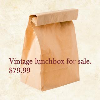 Vintage lunchbox for sale