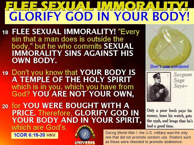Hvad Er Det Bibelen Overveje Seksuelt Umoralsk