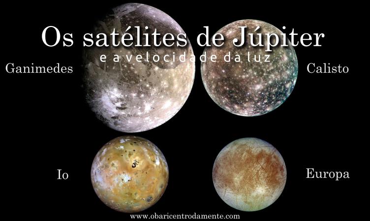 Os satélites de Júpiter e a velocidade da luz