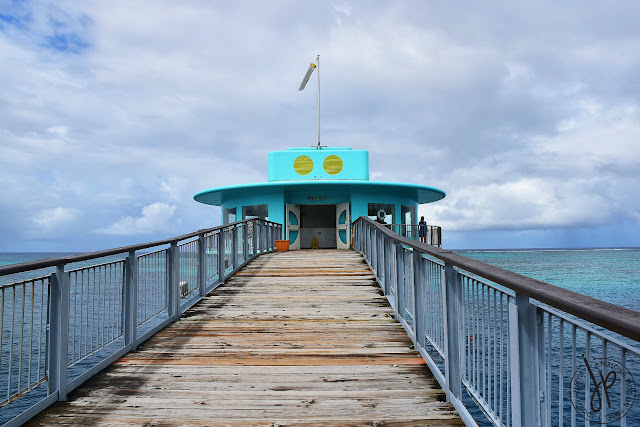 upper deck observatory, bridge, ocean