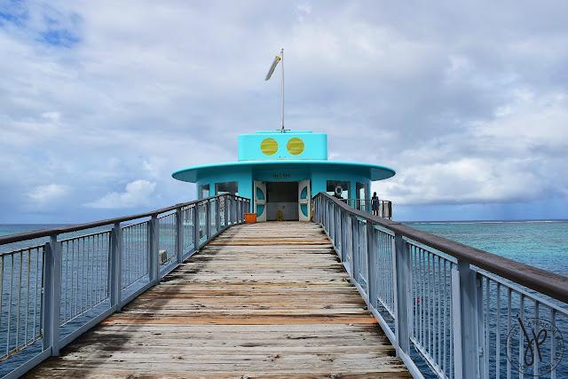 upper deck observatory, bridge, ocean
