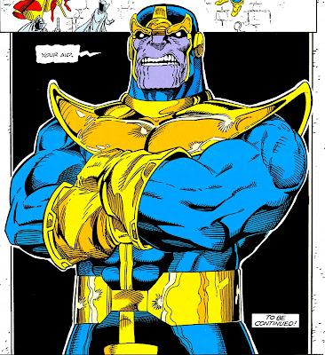 Thanos en La Guerra del Infinito