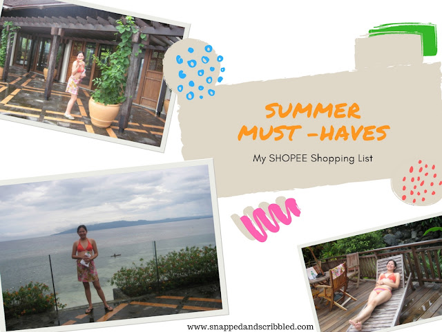 5 Summer Must-Haves: My Shopee Shopping List