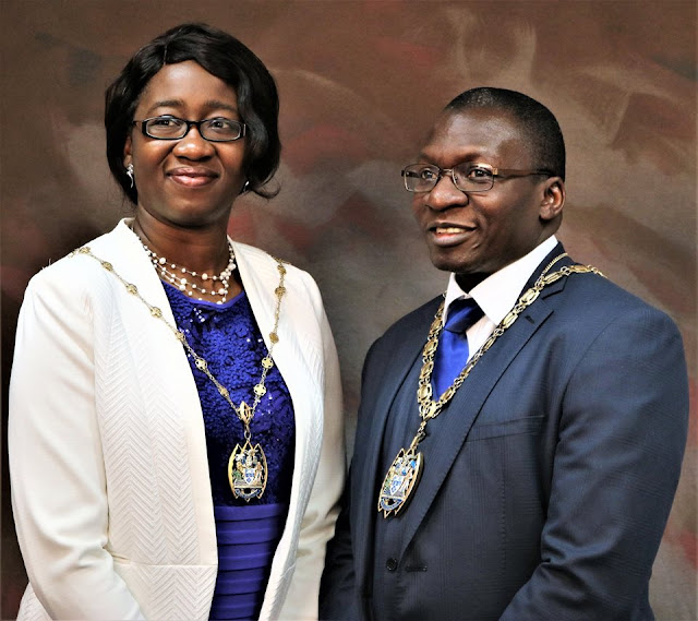 Clr. Tunde Ojetola Elected The New & First black Mayor of Thurrock Council