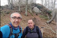 Peña El Arco mendiaren gailurra 1.005 m. - 2018ko apirilaren 15ean