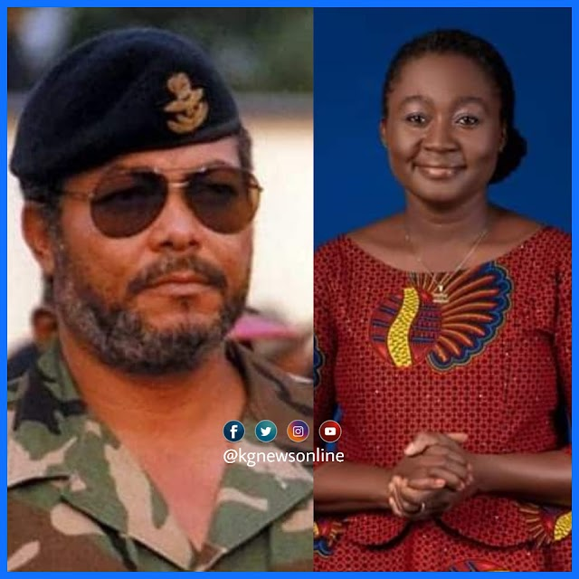 """Rawlings Is Dead And I Feel Cheated"" - Acheampong's daughter cries"